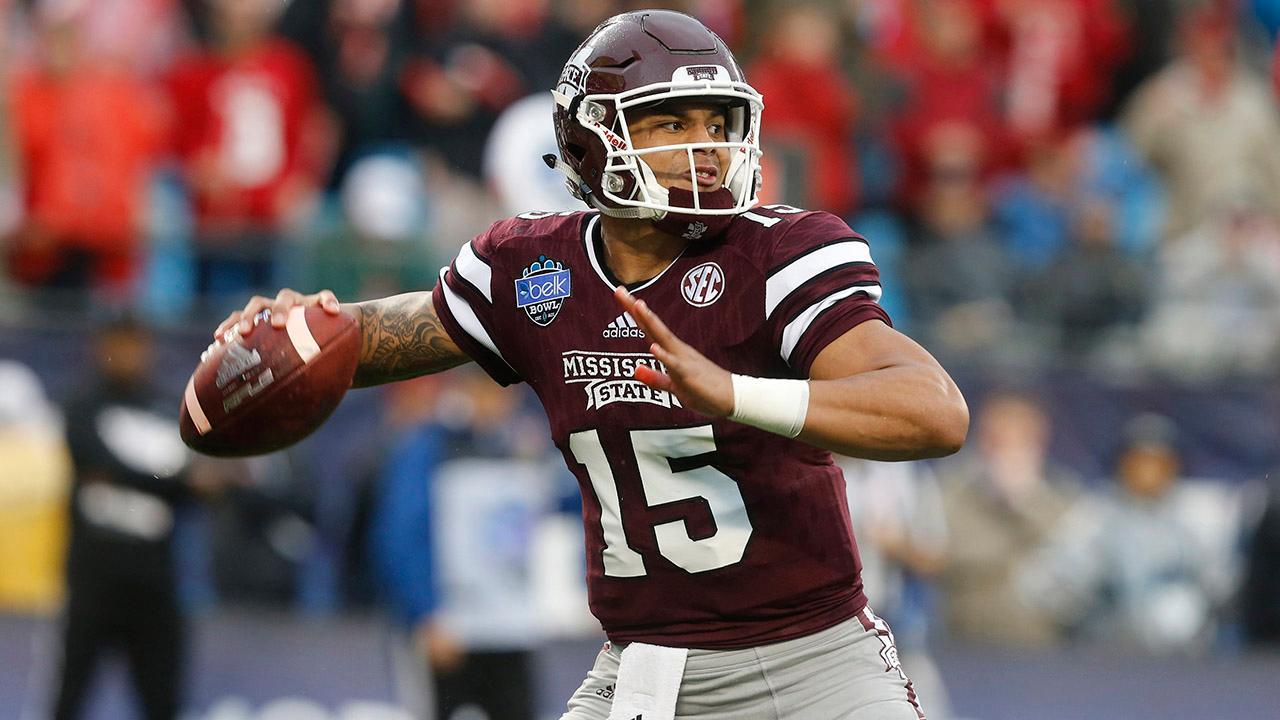 The Dallas Cowboys picked up QB Dak Prescott in the fourth round of the NFL Draft.