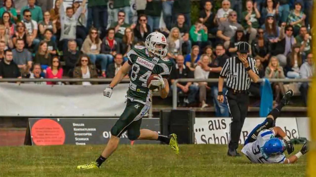 The Vikings drafted star German Football League receiver Moritz Boehringer in the sixth round Saturday.