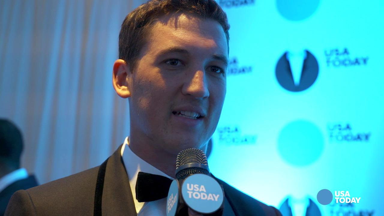 'Divergent' actor Miles Teller shares his favorite memory of President Barack Obama with USA TODAY Entertain This! reporter Jaleesa M. Jones at the 2016 White House Correspondents' Dinner.