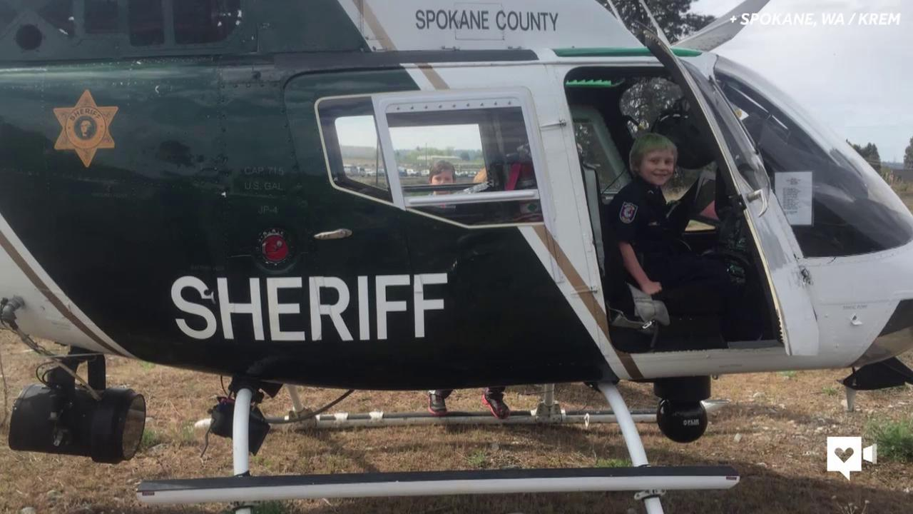 7-year-old beats cancer, takes on crime