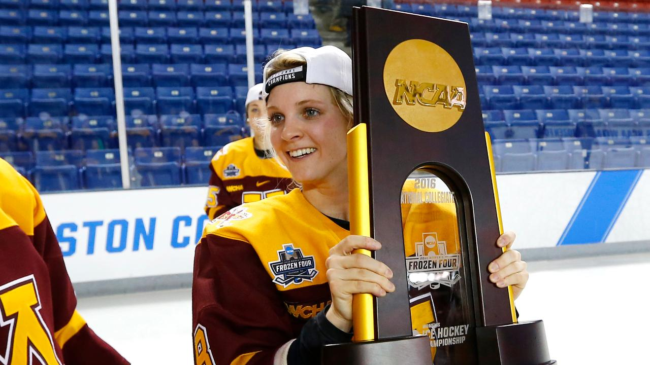 Amanda Kessel has signed a contract with the NWHL's New York Riveters for the 2016-17 season. It was a one-year, $26,000 contract.