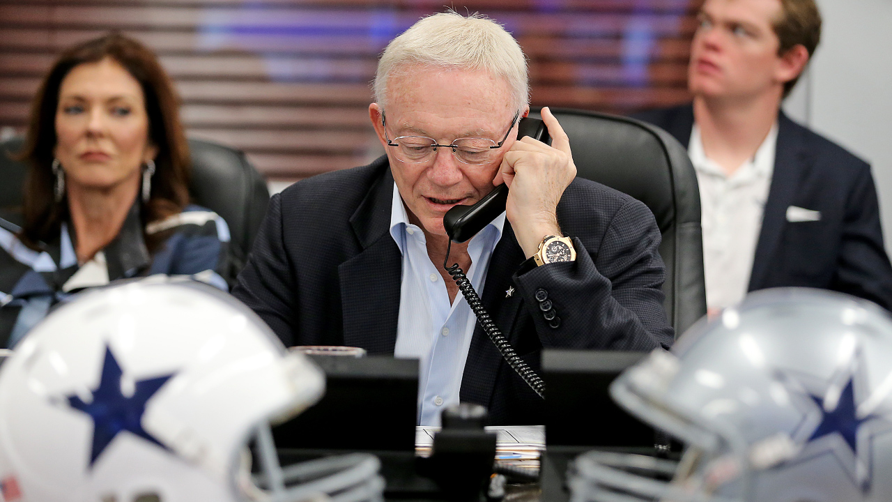 The MMQB's Peter King tells the tale of a Draft weekend spent with Jerry Jones and the Dallas Cowboys.