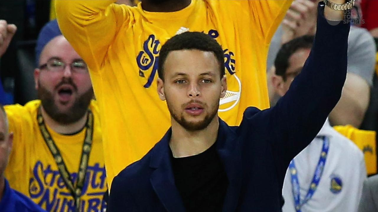 USA TODAY Sports' Sam Amick discusses how the Warriors continue to win despite Steph Curry injured on the sideline.