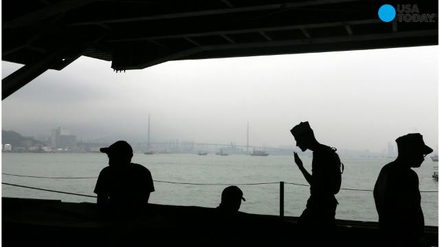 China denies U.S. aircraft carrier entry into Hong Kong port