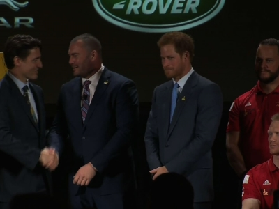 Prince Harry, Trudeau Promote Invictus Games