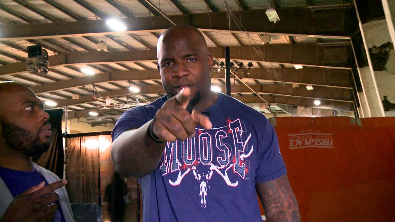Ring of Honor's Moose Relishes Move from NFL to Squared Circle