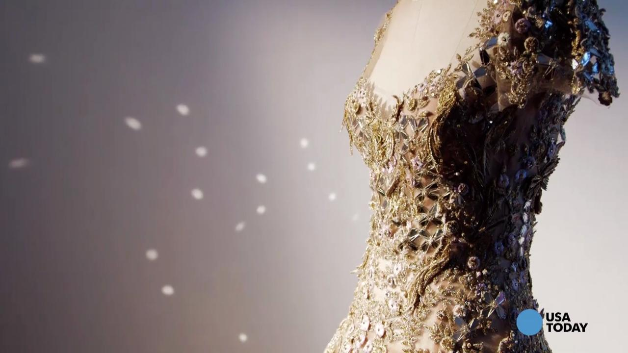 Technology and fashion come together and design a dress