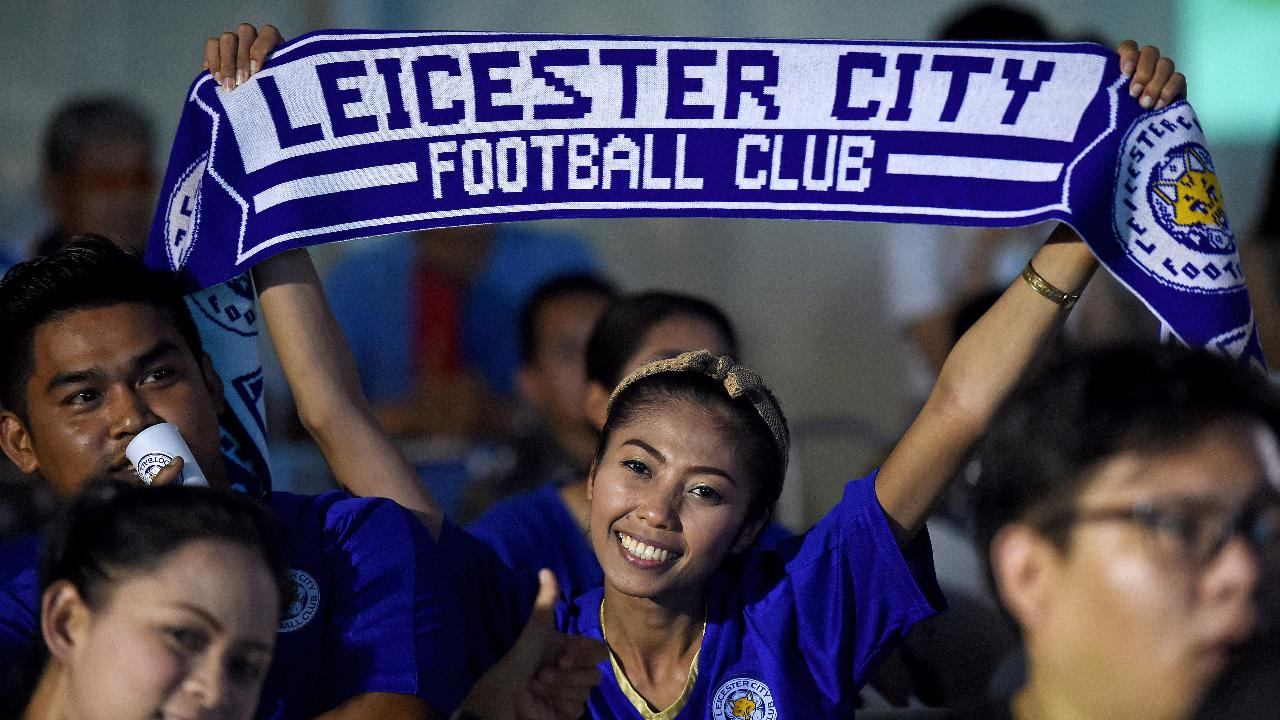 Leicester City claimed their first top-flight title in the team's 132-year history on Monday.