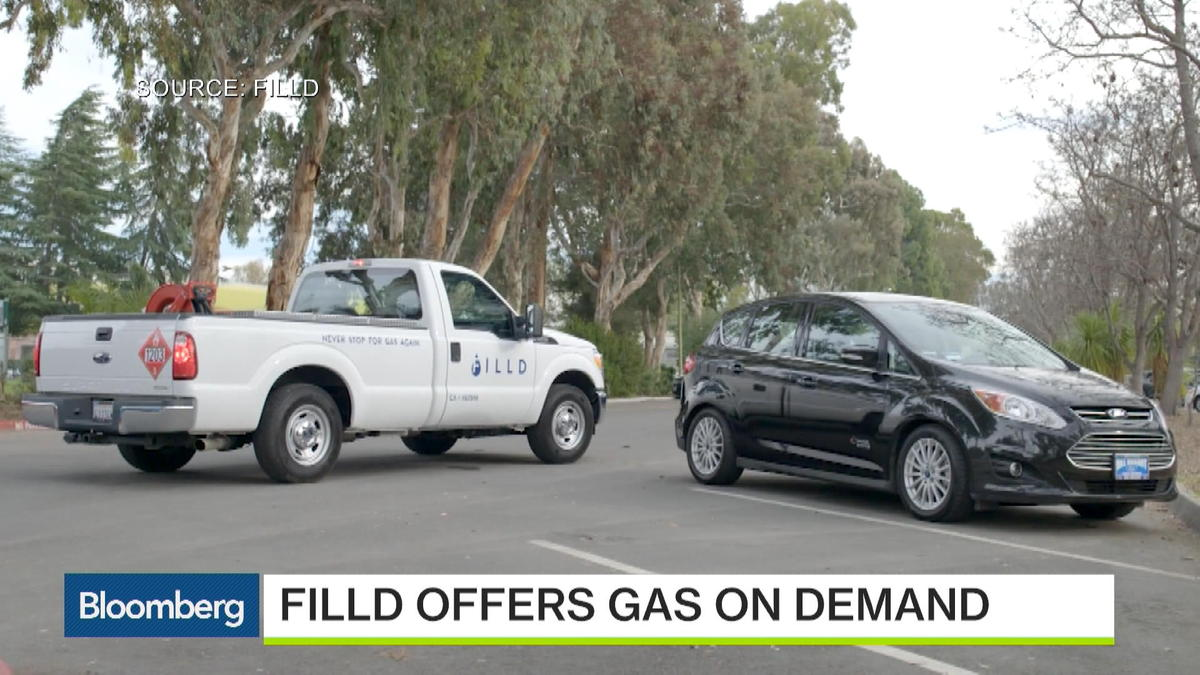 Gas on demand: Filling up without the station