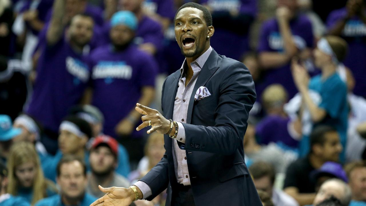 Miami Heat forward Chris Bosh has been on the sideline since the All-Star break dealing with a blood clot and according to ESPN's Dan Le Betard the Heat star is now pressuring his team to let him return.