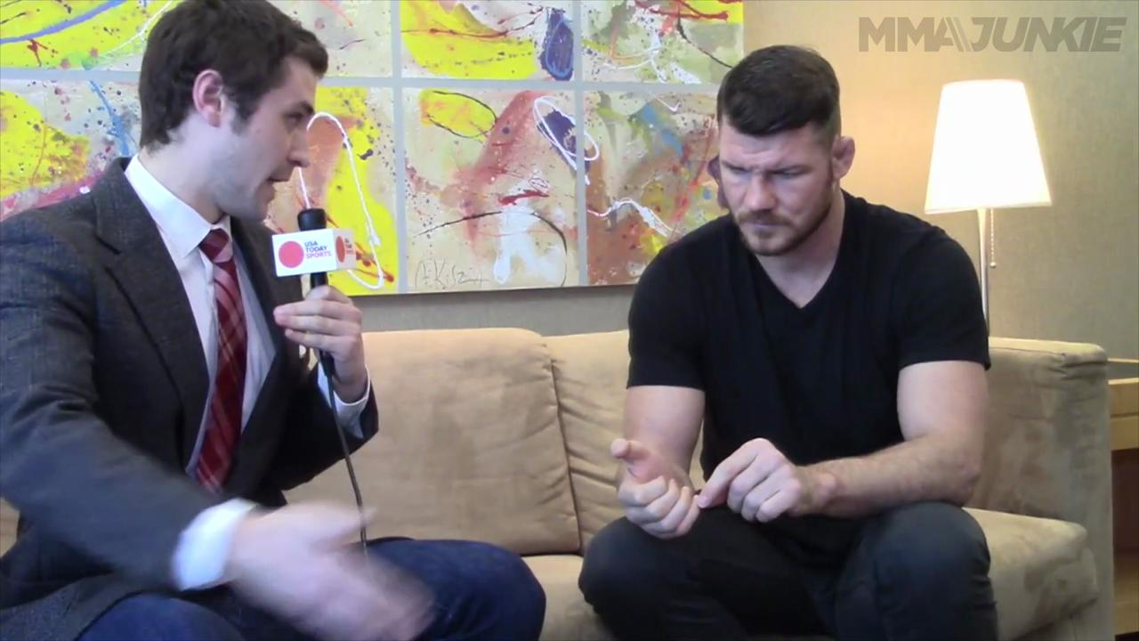 Michael Bisping still hoping for title shot vs. Weidman or Rockhold