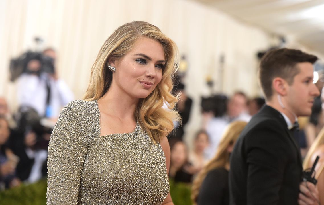A few a-list athletes made an appearance at the Met Gala and Kate Upton showed off her new bling on the red carpet Monday night.