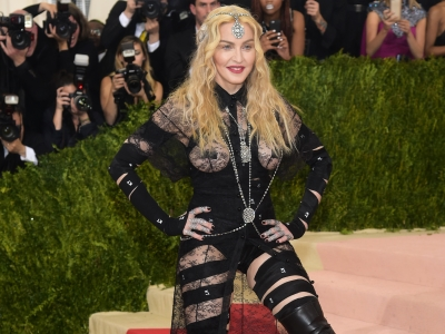 Madonna Bares All at the Met Gala