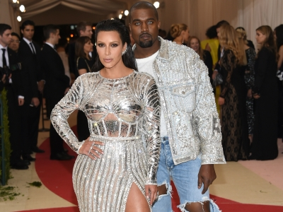 "Kim and Kanye Are ""blingy, Sexy Robots"""