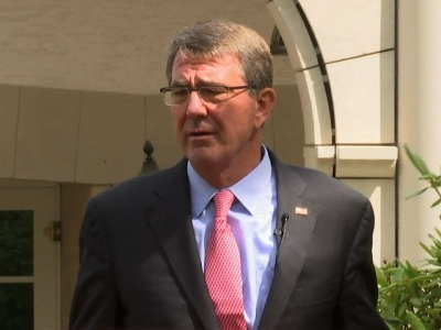 An American serviceman has been killed near Irbil in Iraq, US Defence Secretary Ash Carter announced on Tuesday. (May 3)