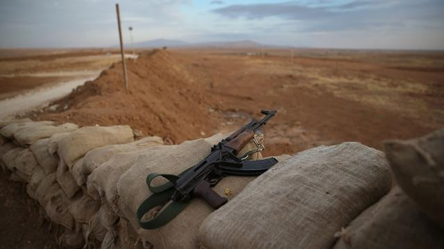 Member of US military, possibly special Forces, killed by ISIS