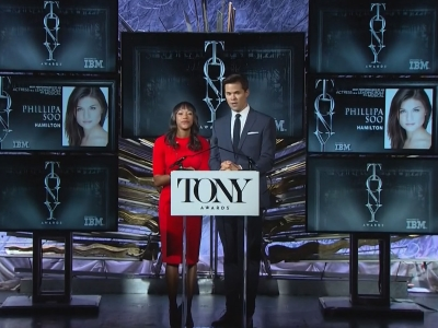'Hamilton' Leads Tony Awards Noms
