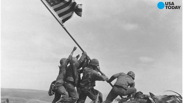 After two amateur history buffs began raising questions about the picture, the Marine Corps says it's begun investigating whether it mistakenly identified one of the men shown raising the U.S. flag at Iwo Jima in one of the iconic images in history.