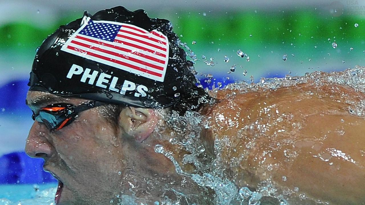 Michael Phelps sits down with USA Today to discuss his past accomplishments and looking ahead to the future.