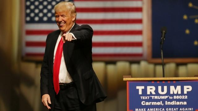 Trump wins Indiana, dimming hopes of contested convention
