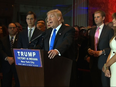 Donald Trump: 'Cruz one tough competitor'