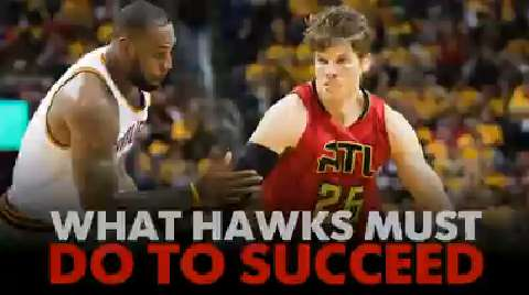 Former NBA pro Eddie Johnson breaks down what the Hawks must do to stay competitive in their series with the Cavaliers.