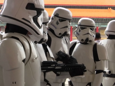 Raw: Taiwan fans celebrate 'Star Wars Day'