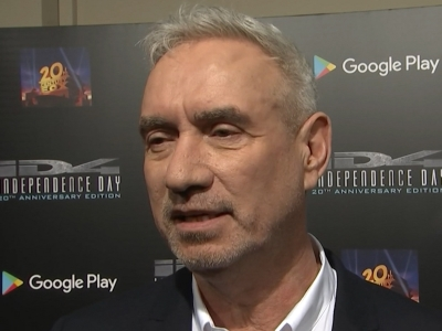 At a 20th anniversary screening for 'Independence Day,' director Roland Emmerich reveals he was 'bummed' that Will Smith didn't join the blockbuster's upcoming sequel, while stars Jeff Goldblum and Vivica A. Fox look back on the first movie. (May 4)
