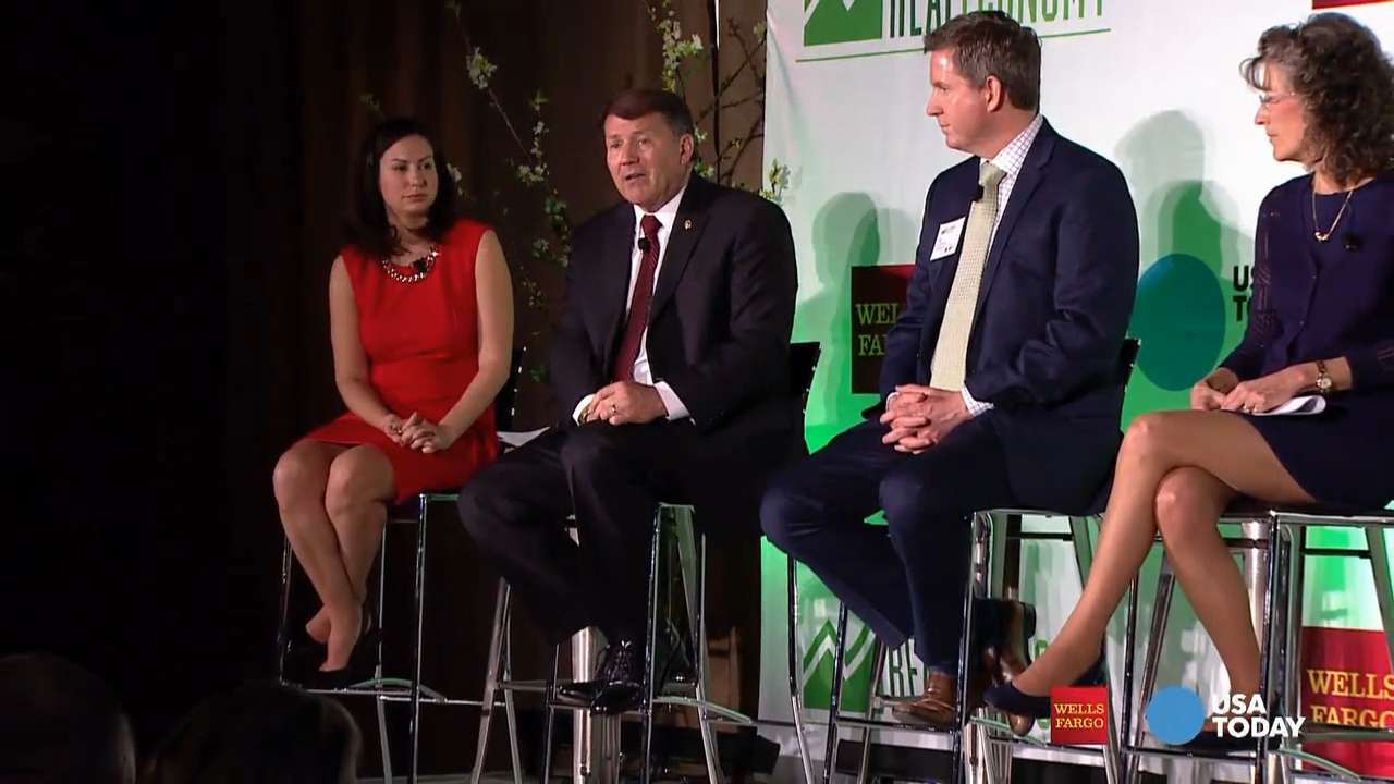 Speaking on USA TODAY and Wells Fargo's Real Economy panel in South Dakota, Sen. Mike Rounds criticized the quality of health care given to the state's Native Americans. He said helping them will help all of rural South Dakota.