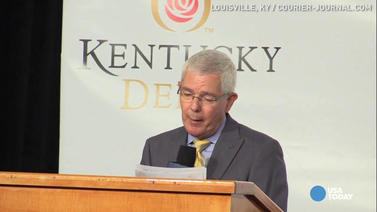 It's time to place your bets! Longtime odds maker and handicapper Mike Battaglia announced the odds for each horse competing in the 2016 Kentucky Derby.