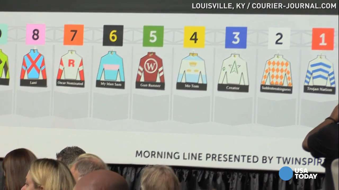 Post positions drawn for 2016 Kentucky Derby
