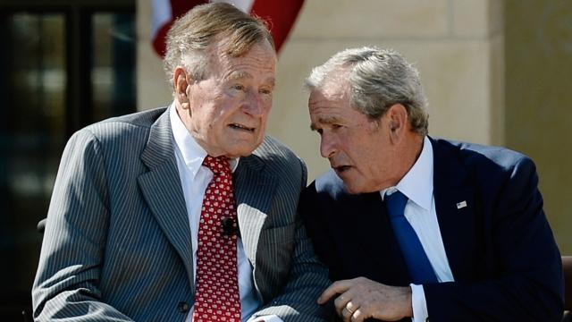 Don't expect the Bushes to jump on the Trump train