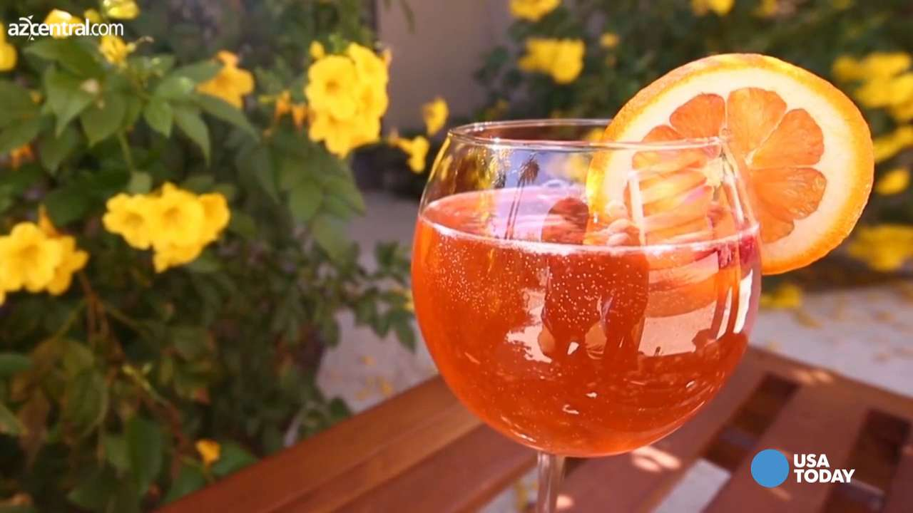 The easiest strawberry sangria you'll ever make