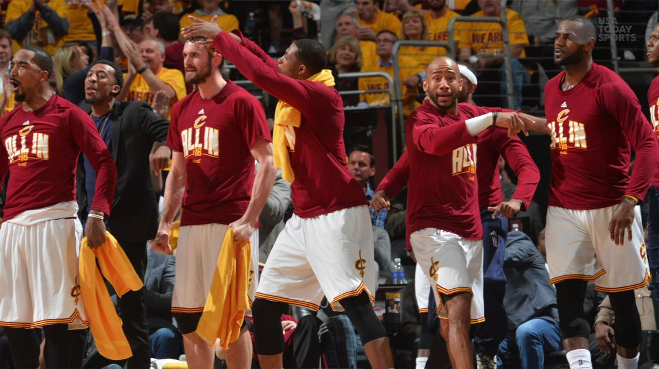 USA TODAY Sports' Jeff Zillgitt breaks down the Cavaliers record-breaking night in their Game 2 victory over the Hawks.