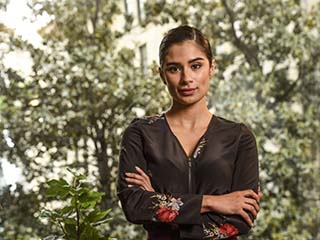 """""""Orange Is The New Black"""" actress Diane Guerrero lived on her own in the U.S. since the age of 14 after her parents were arrested and deported to Colombia."""