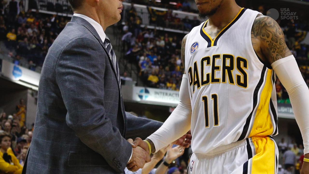 Pacers part ways with coach Frank Vogel