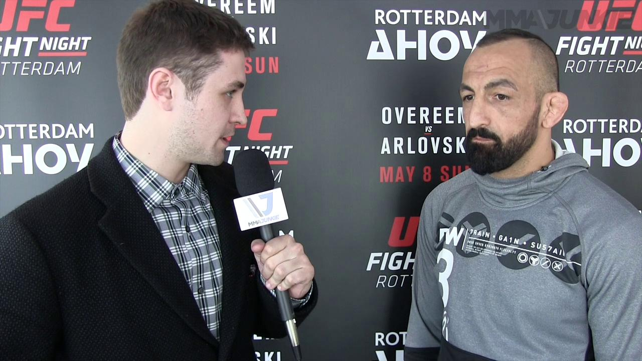 At UFC Fight Night 87, Reza Madadi ready to prove he's better than his last outing