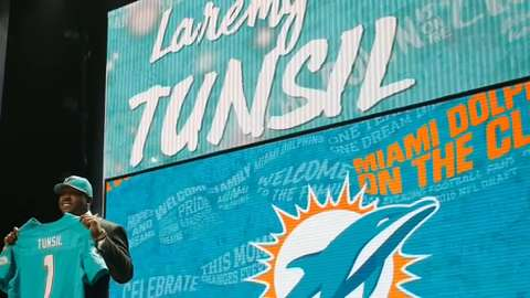 Charles Grantham on Laremy Tunsil's draft night