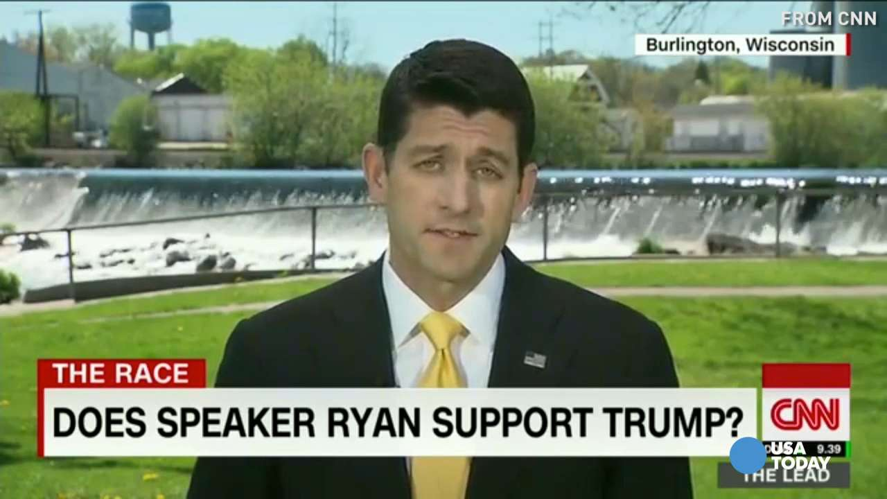 Paul Ryan: I can't endorse Donald Trump right now