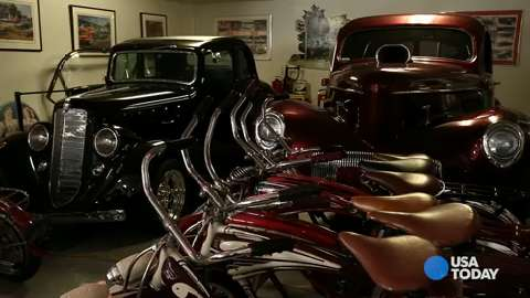 Baseball hall of famer Reggie Jackson talks about his love for American automobiles.
