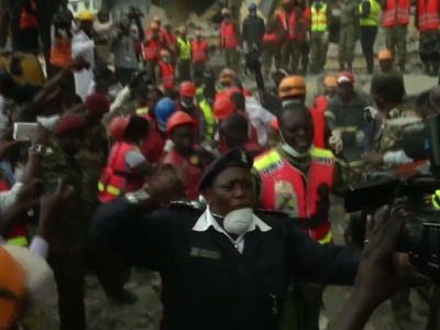 Woman freed from rubble 6 days after collapse