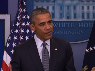 Obama on election: 'This isn't a reality show'