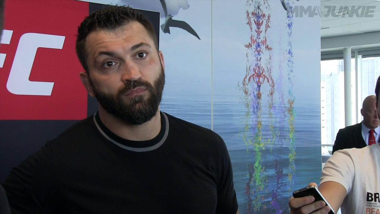 For Andrei Arlovski, UFC Fight Night 87 just a business decision