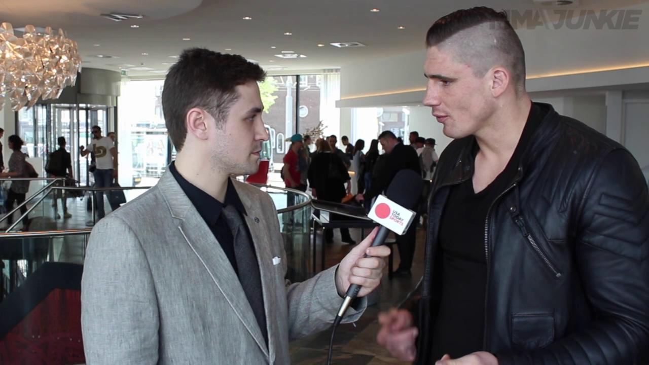 Kickboxing champ Rico Verhoeven talks transition to MMA