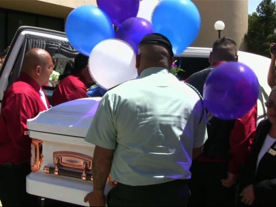 Thousands mourn Navajo girl killed
