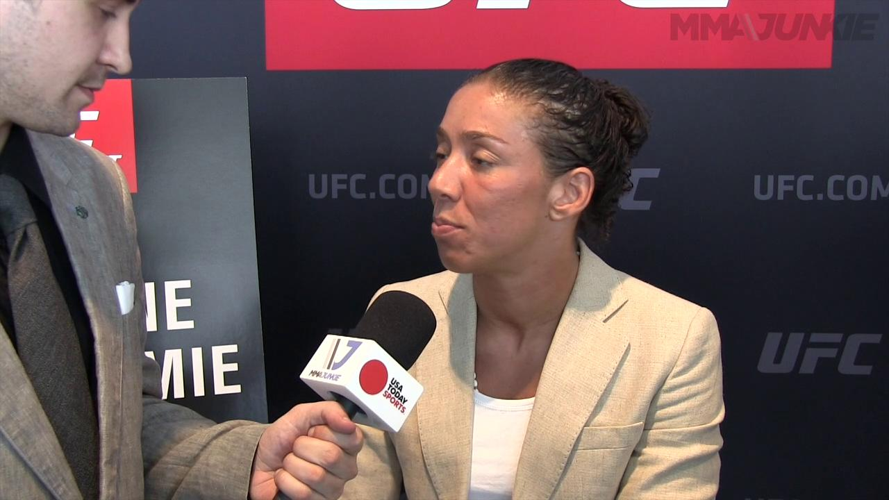 Germaine de Randamie excited for octagon return at UFC Fight Night 87