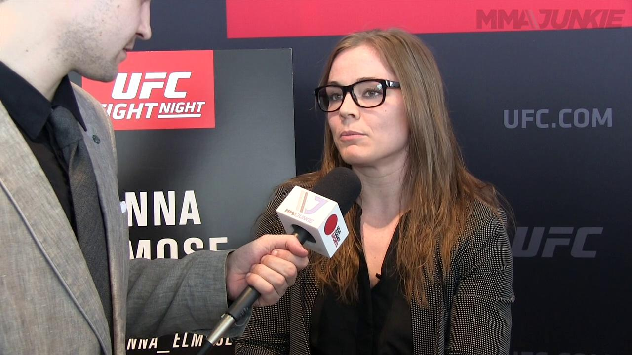 Anna Elmose prepared for every possible outcome at UFC Fight Night 87