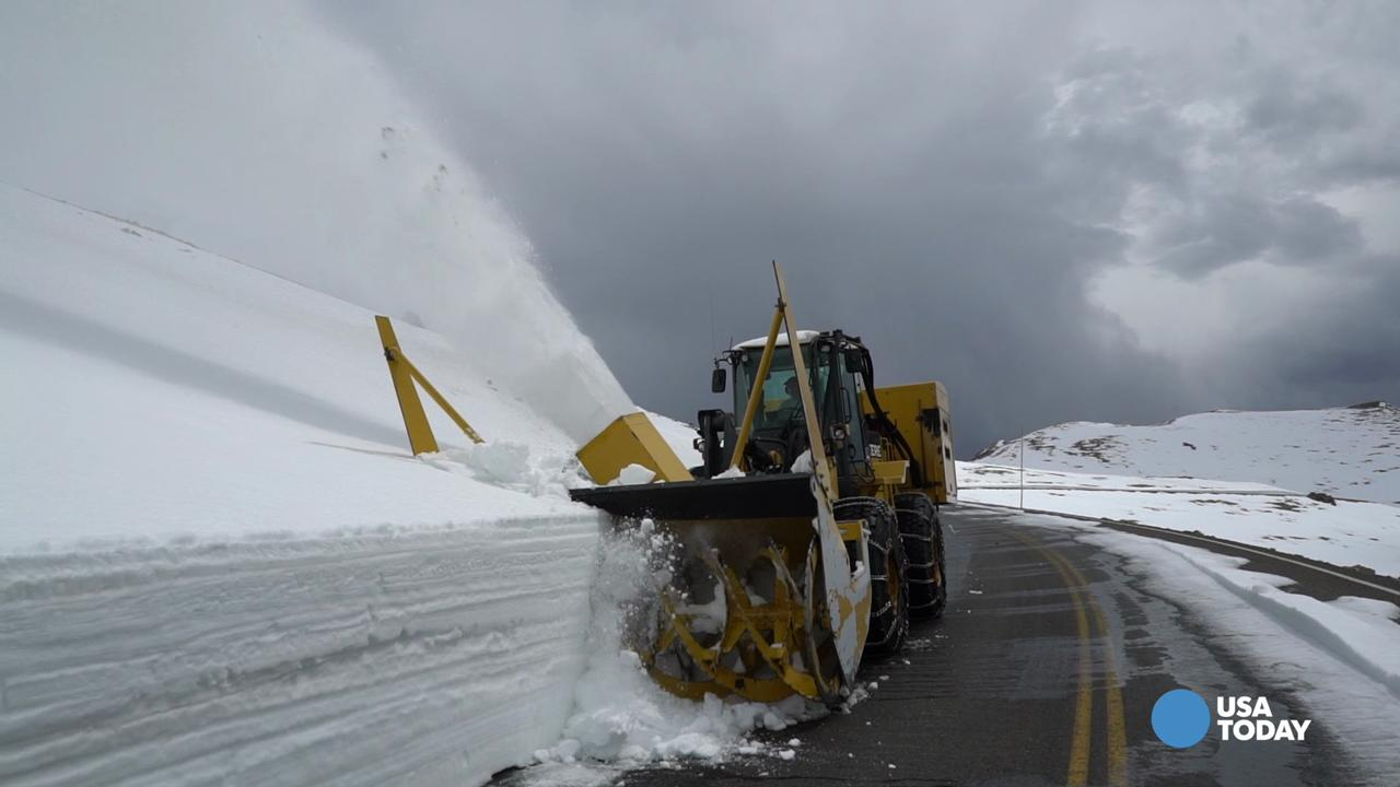 At 12,000 feet, winter isn't over yet