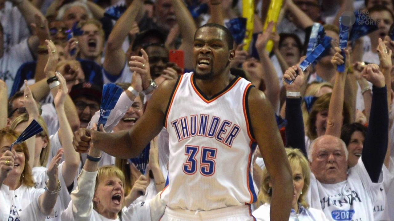 Kevin Durant dominates in Thunder's Game 4 win over Spurs