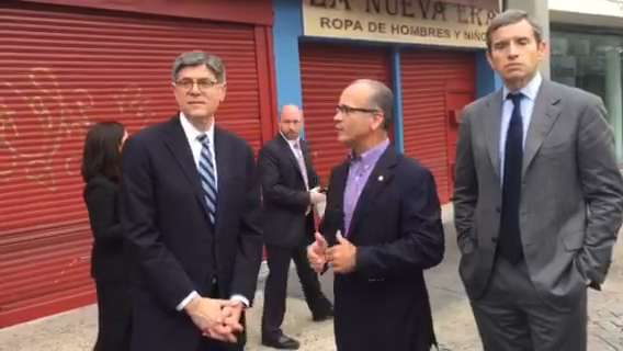 Treasury secretary visits Puerto Rico